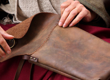 The Middle Ages - Natural leather for medieval festivals