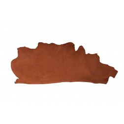 Muster Blankleder Hermann Oak chestnut 5,5-6,0 mm 5 x 15 cm