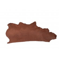 Muster Blankleder Hermann Oak chocolate 6,0/+ mm 5 x 15 cm